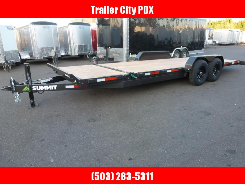 2020 Summit DPSTB722TA5 Split Tilt Trailer