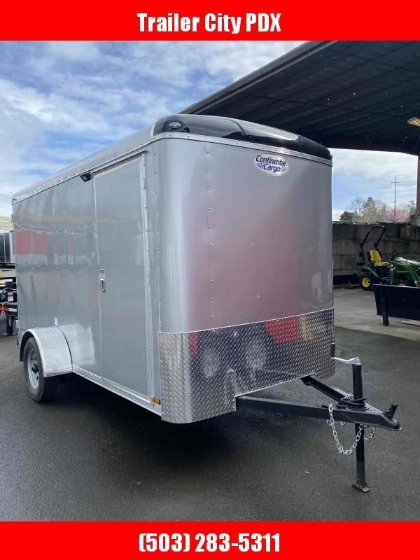 2021 Continental Cargo 6 X 12 3K CARGO DOORS TALL DIAMOND ICE Enclosed Cargo Trailer