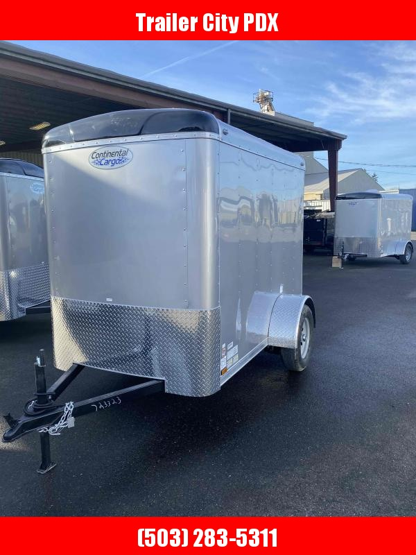 2021 Continental Cargo 5X8 3K RAMP SUPTER TALL CARGO DIAMOND ICE Enclosed Cargo Trailer