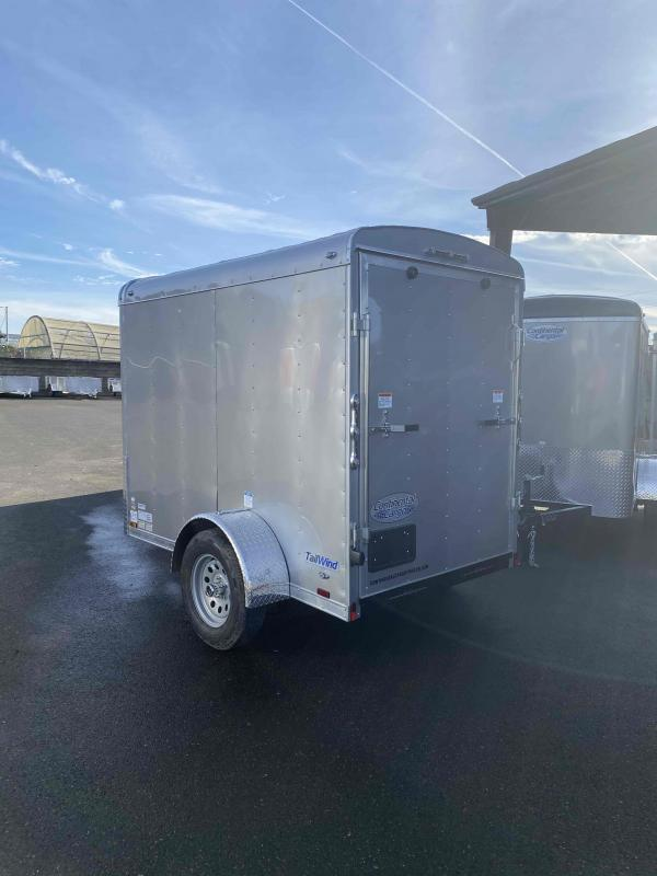 2021 Continental Cargo 5X8 3K RAMP SUPTER TALL CARGO DIAMOND ICE Enclosed Cargo Trailer