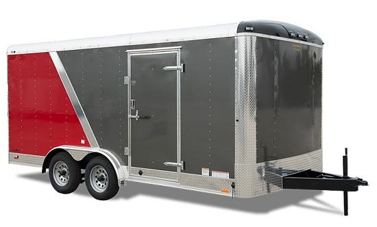 2020 Continental Cargo 8.5 x 24 10k CARHAULER RAMP WHITE TALL Enclosed Cargo Trailer