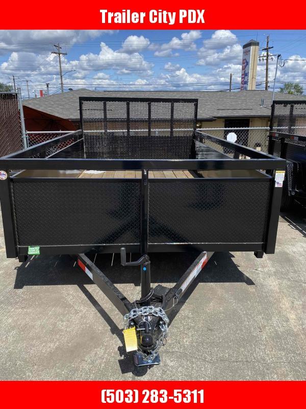 Fabform 7 X 12 DELUXE BOX ATV UTILITY Utility Trailer