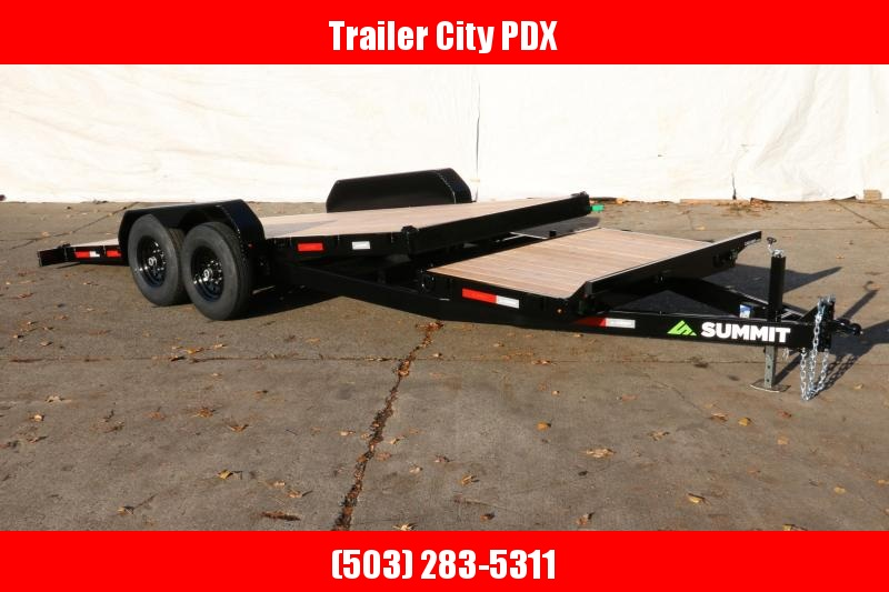 Summit c6stb720 14K Split Tilt Trailer