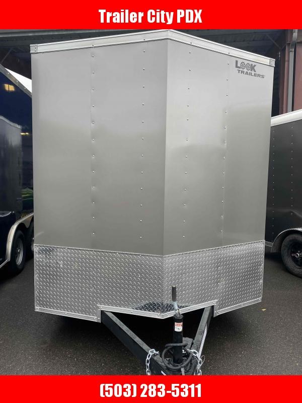 2022 Look Trailers 7.0 X 16 7K RAMP DOOR PEWTER Enclosed Cargo Trailer