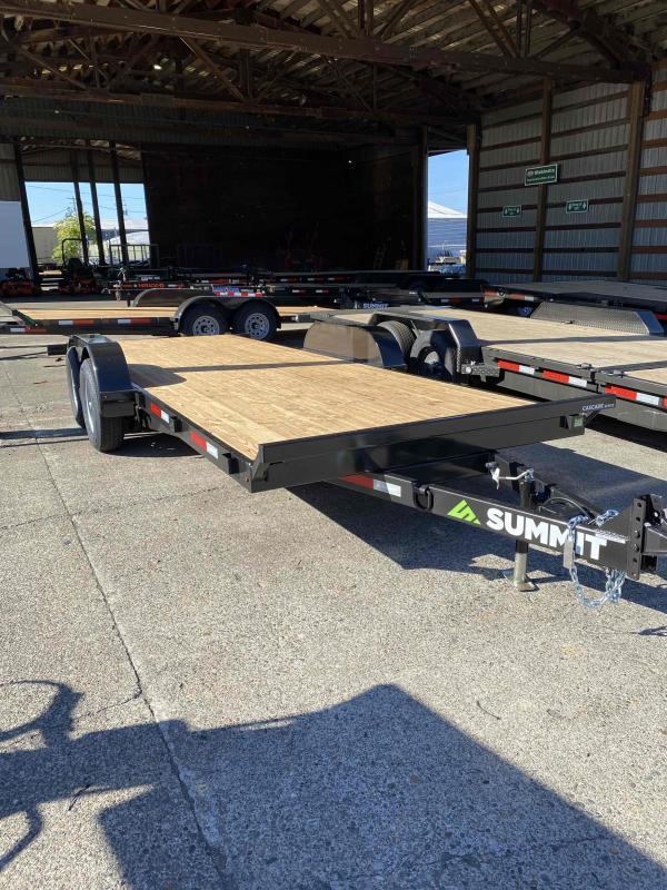 Summit 7 X 20 19K TILT Equipment Trailer