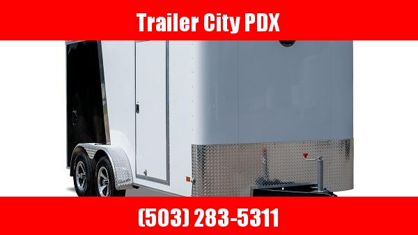 2021 Wells Cargo 7 X 16 7K RAMP TWO TONED Enclosed Cargo Trailer