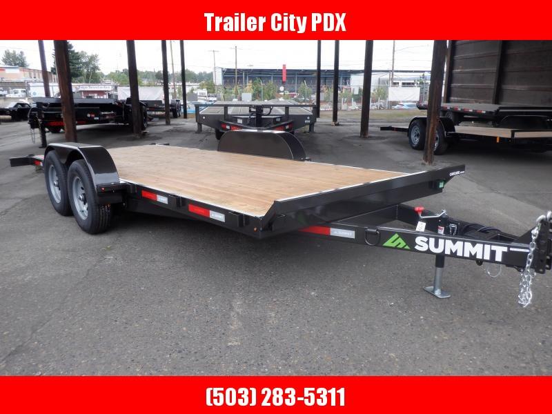 "2020 Summit Cascade Series 5"" 7 X 18 10K Utility Trailer"