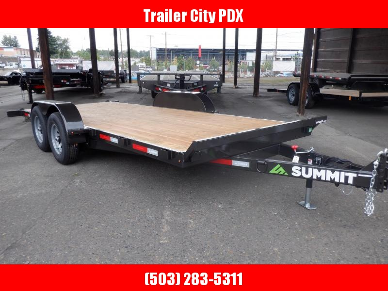 "2020 Summit Cascade Series 5"" 7 X 18 10K Utility Trailer"
