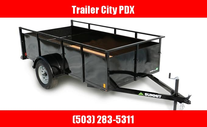 2021 Summit 6 x 10 3k Alpine Utility - Split Ramp Utility Trailer