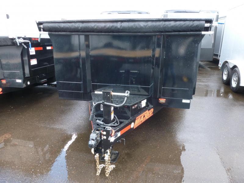 "2020 MAXXD D8X - 83""X 14' W/ 3' Sides Heavy Duty Dump Trailer"