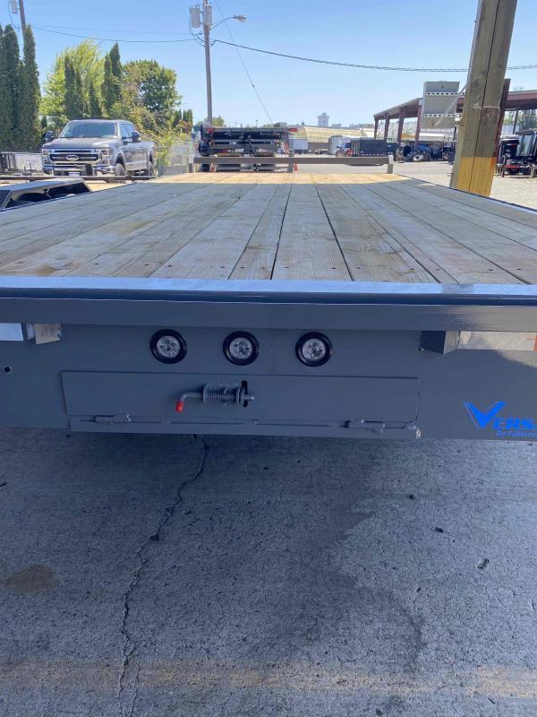 8 X 20 10K SPLIT TILT-10K Flatbed Trailer
