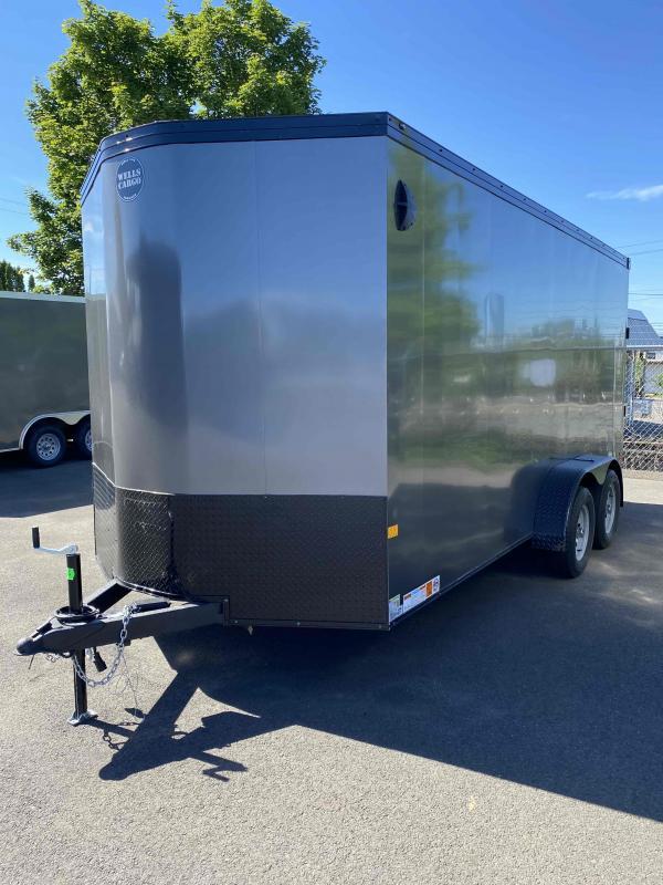 Wells Cargo RF716T2 Enclosed Cargo Trailer
