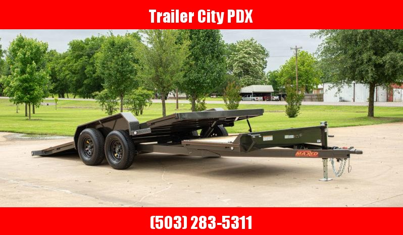 2020 MAXXD G5X 20 X 102 10K Gravity Equipment Tilt Trailer Flatbed Trailer