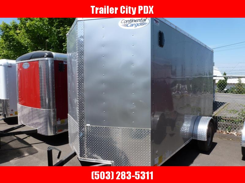 2020 Continental Cargo 6 X 12 3K V SERIES DIA ICE Enclosed Cargo Trailer