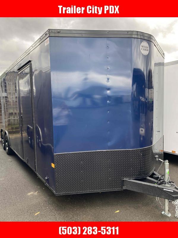 2022 Wells Cargo RFV8524T3 Enclosed Cargo Trailer