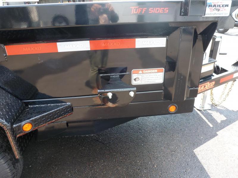MAXXD 6 X 12 12K DUMP. BLACK. TARPS. RAMPS Dump Trailer