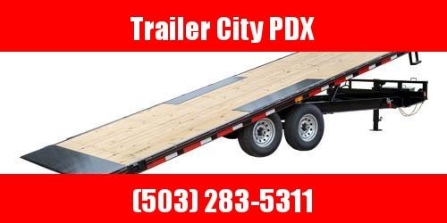 2021 MAXXD TOX -8.5 X 22 14K Power Tilt Deckover Trailer Equipment Trailer
