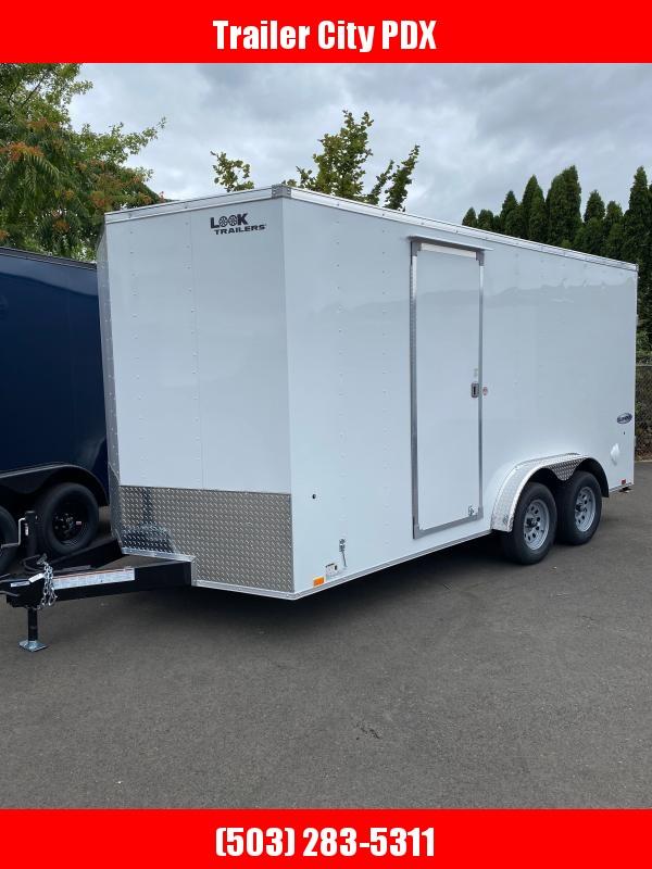 Look Trailers 7.5X16 7K RAMP Enclosed Cargo Trailer
