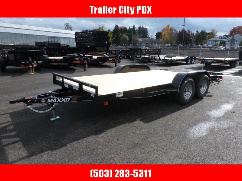 2021 MAXXD 7 X 16 7K CHANNEL CARHAULER Utility Trailer