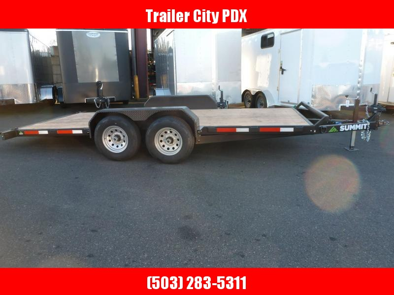 Summit 7 X 16 10K Tilt Flatbed Trailer