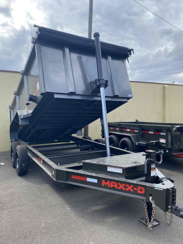MAXXD 7 x 14 17.5k  DTX Telescoping Dump Trailer