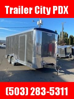2021 Continental Cargo 7X16 7K TALL RAMP CHARCOAL Enclosed Cargo Trailer