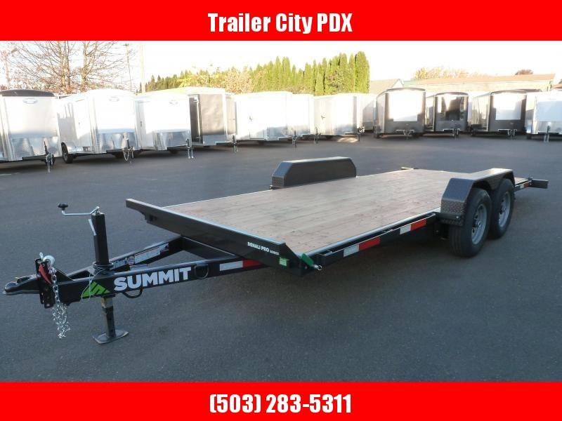Summit 7x18 10k DPTB718TA3 Tilt Trailer