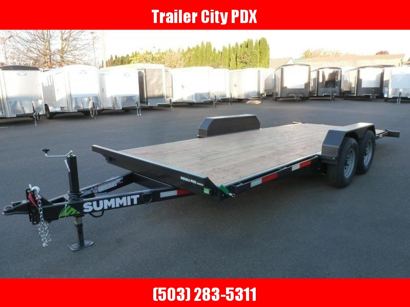 Summit 7x18 10k DPTB718TA3 Tilt Trailer