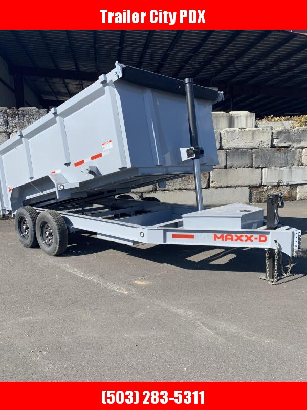 "2021 MAXXD DTX 14K 14' X 83"" Telescoping Dump Trailer Dump Trailer"