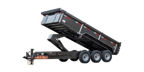 """2021 MAXXD 83""""X16' 21K DHX - Super HD Dump Trailer Dump Trailer"""