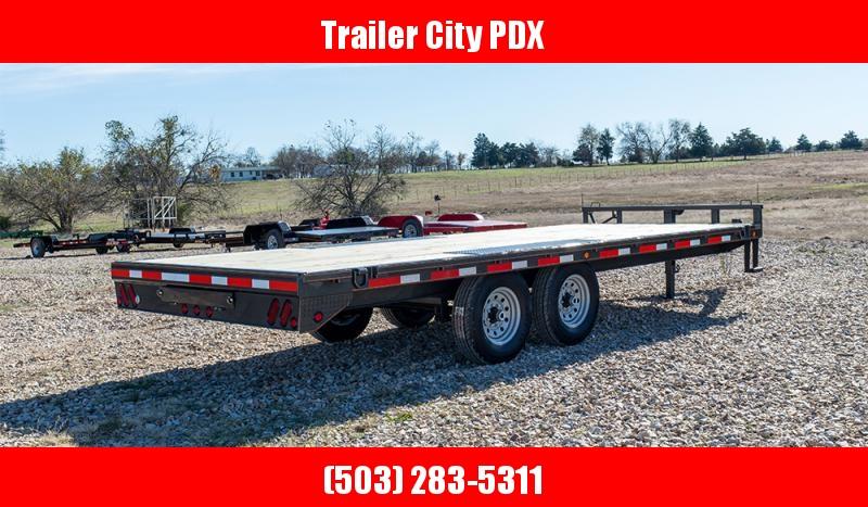 "2021 MAXXD 20' X 102"". DOX - 14K I-Beam Deckover Trailer Flatbed Trailer"