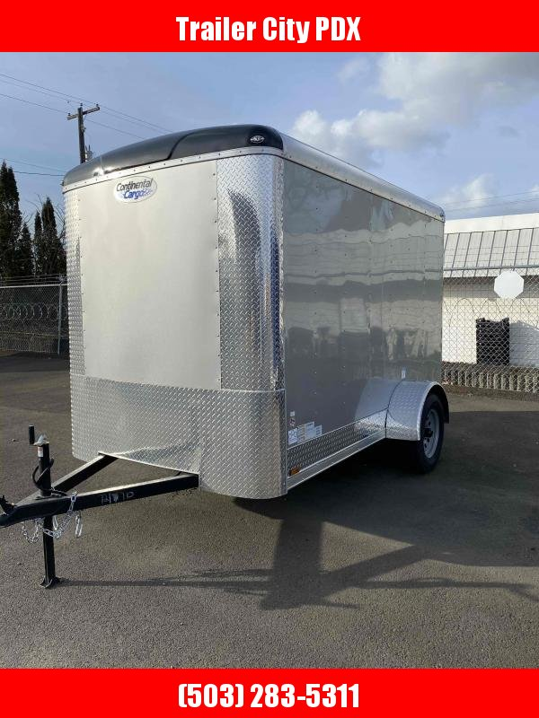 2021 Continental Cargo 6 X 10 3K RAMP TALL DIAMOND ICE Enclosed Cargo Trailer
