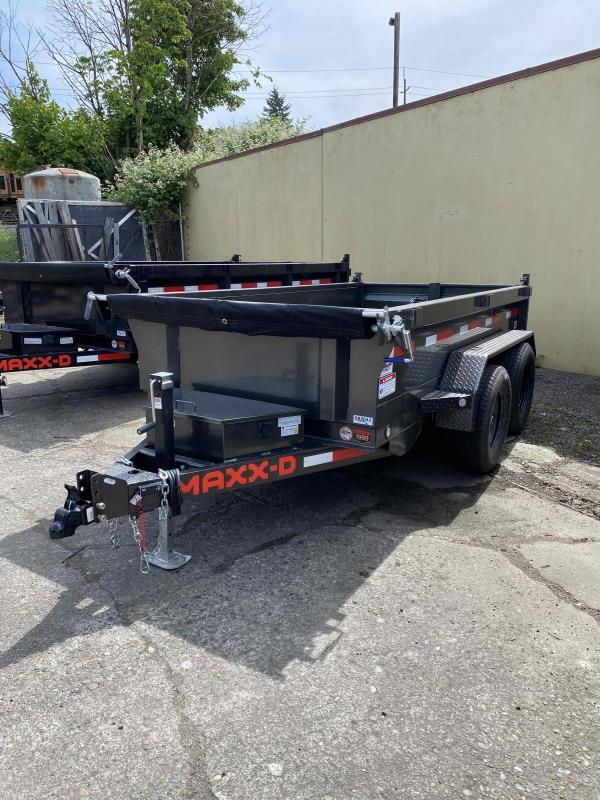 "MAXXD 5 X 10 7K D5X - 60"" Single Ram Dump Trailer Dump Trailer"