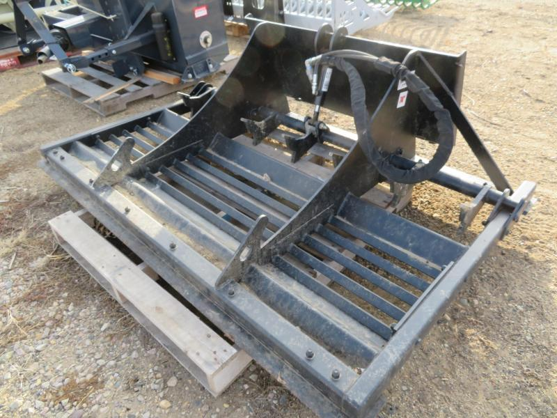 "Used Jenkins 74"" Skid Steer Land Leveler w/teeth"