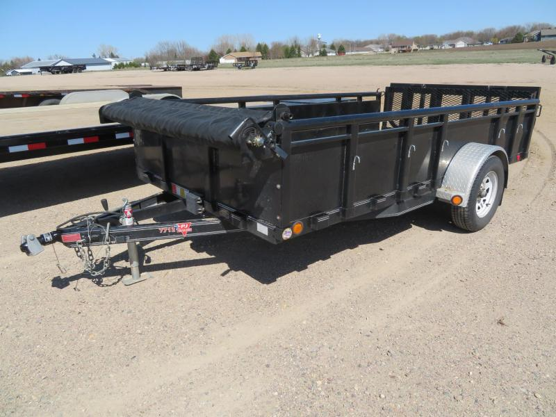 2015 PJ Trailers 12 Solid Side Utility Trailer