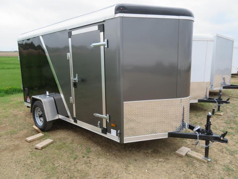 2021 US Cargo 6 x 12 Enclosed Cargo Trailer