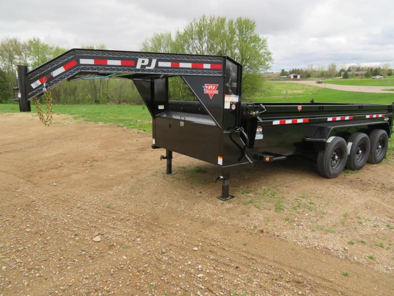 2021 PJ Trailers 16 GN Triple Axle Dump Trailer