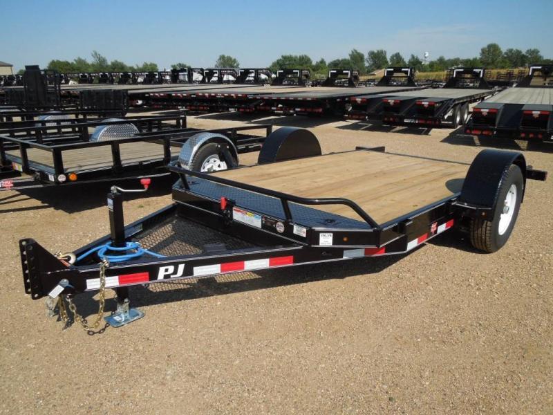 2020 PJ Trailers 13 Tilt Equipment Trailer