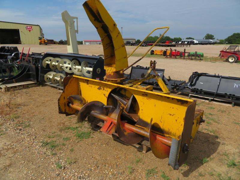 "Used Hanson 78"" 3 Point Snow blower"