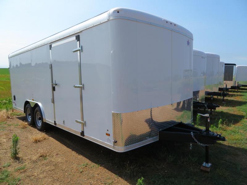 2021 US Cargo 8.5 x 20 Enclosed Cargo Trailer