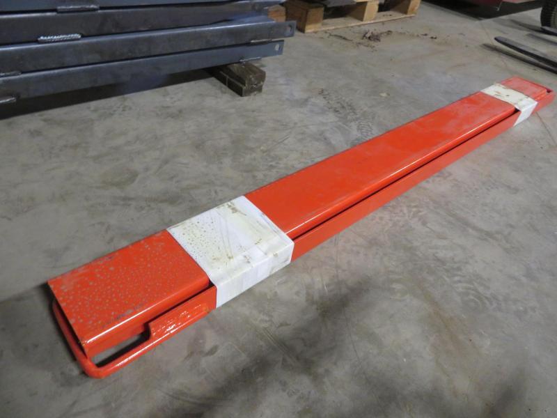 Orange 72 Pallet Fork Extensions