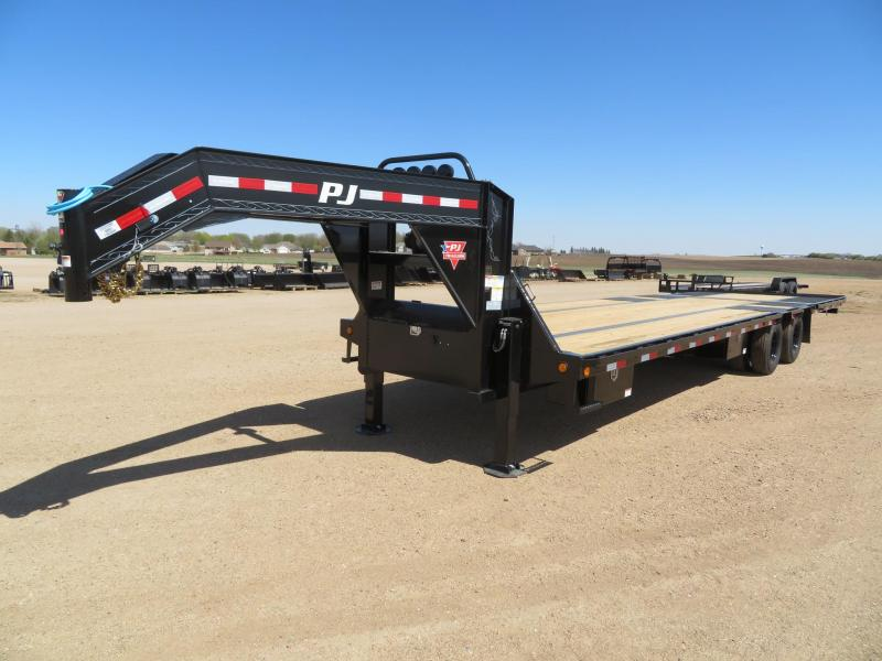 2021 PJ Trailers 34 Low Profile Hydraulic Tail GN