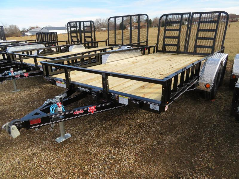 2021 PJ Trailers 14 Tandem Axle ATV Utility Trailer