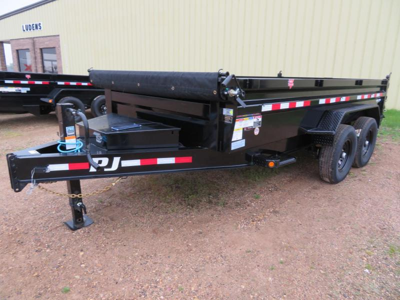 2021 PJ Trailers 14 Low Profile Dump Trailer