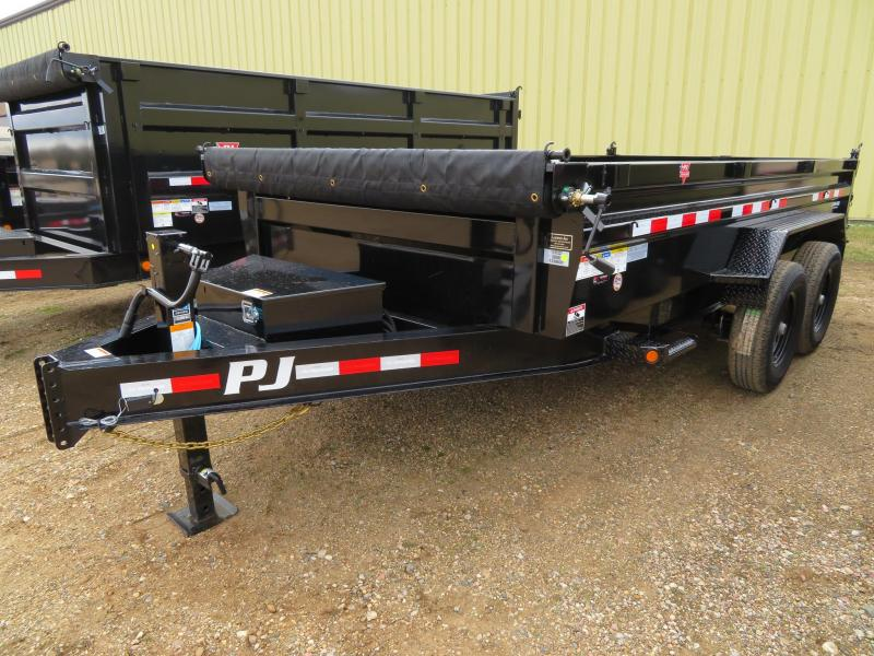 2020 PJ Trailers 14 Low Profile Dump Trailer