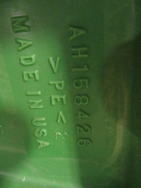 Used John Deere Permaglide Right Endpanel Fender