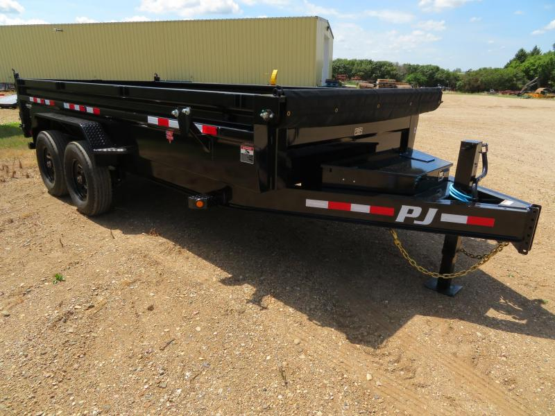 2021 PJ Trailers 16 Low Profile Dump Trailer