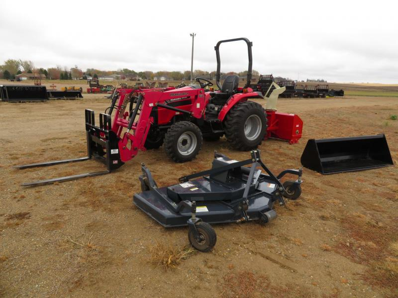 2012 MAHINDRA 4010 HST COMPACT LOADER TRACTOR