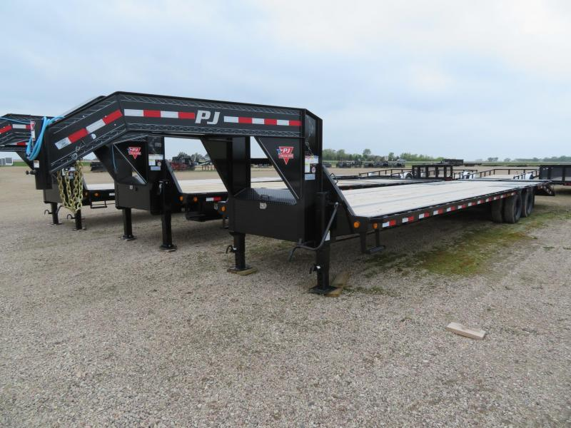 2021 PJ Trailers 36 Low Profile GN Trailer