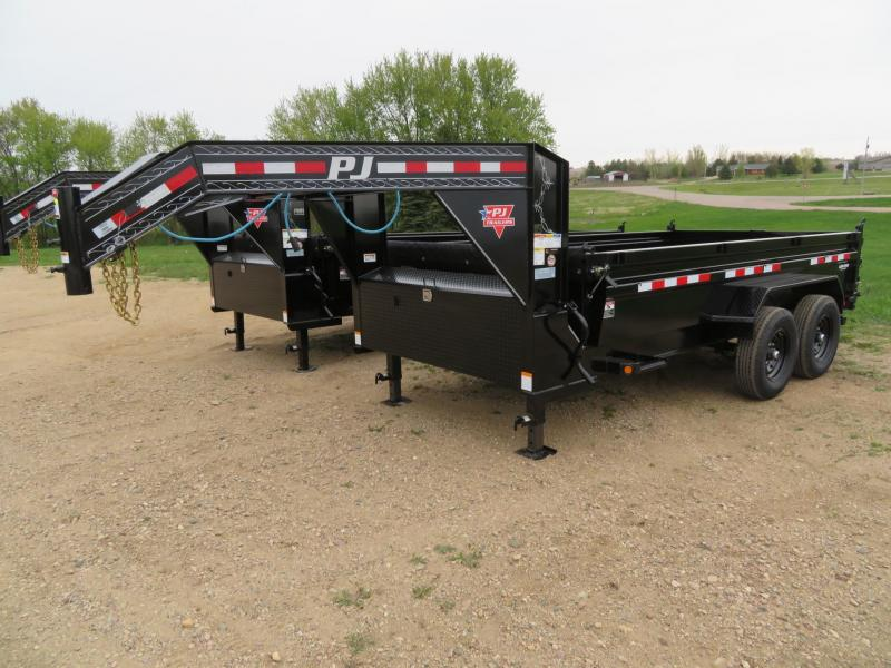 2021 PJ Trailers 14 Low Profile GN Dump Trailer